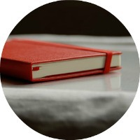 Red Moleskine Notebook