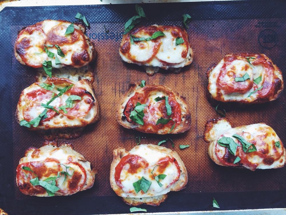 Roasted Tomato Tartine | Eat This Poem