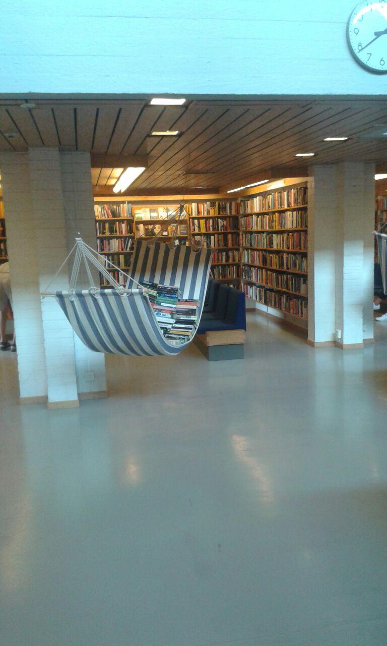 Hammock in Helsingborg library.jpg