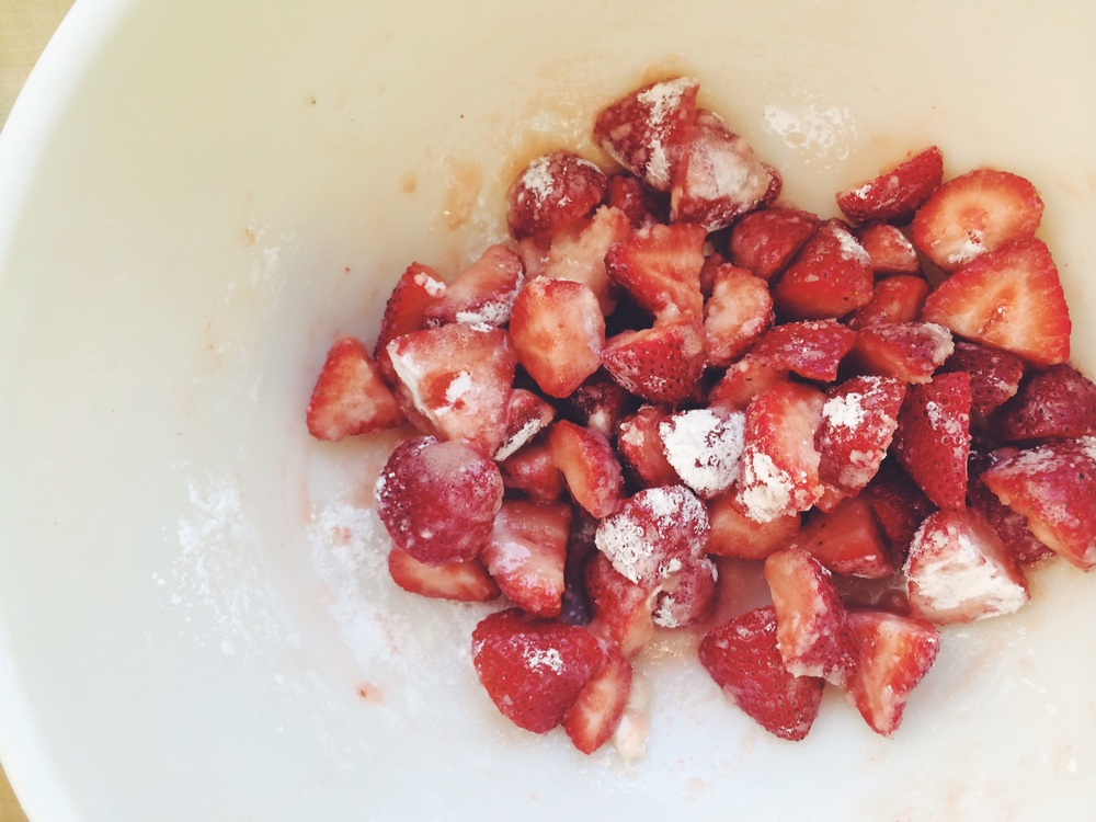 Strawberry Oat #Breakfast Crisp | Eat This Poem