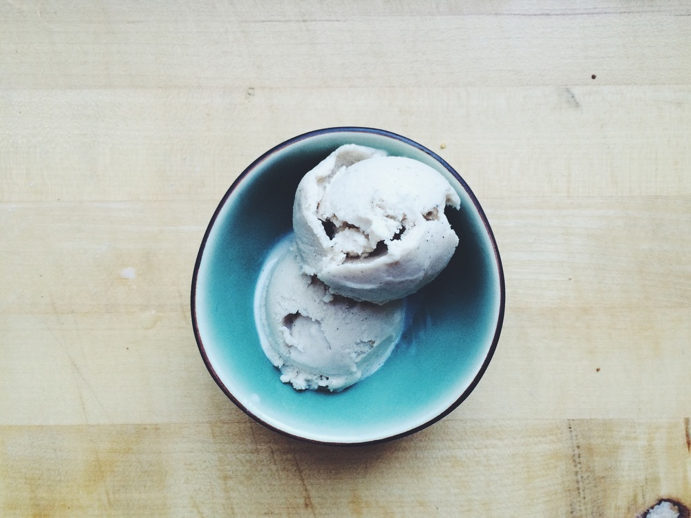 Spiced Coconut Ice Cream \\ Eat This Poem
