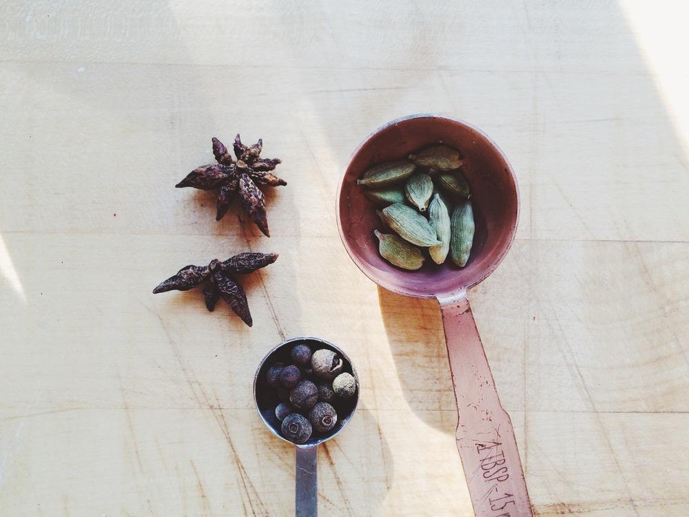 Almond Milk Chai / Eat This Poem