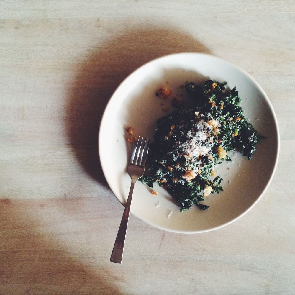 The kale salad I can't live without.