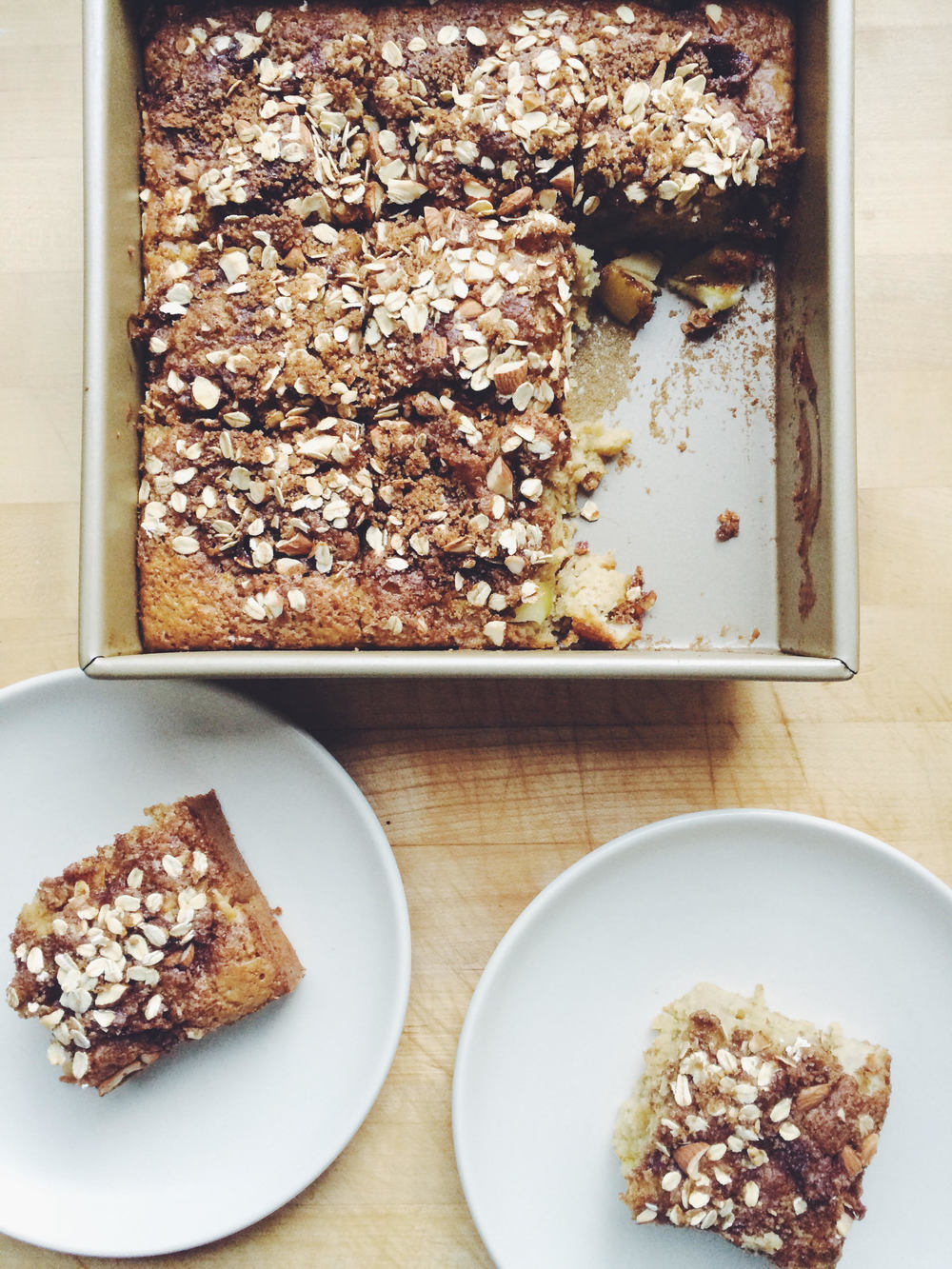 Apple Coffee Cake | Eat This Poem