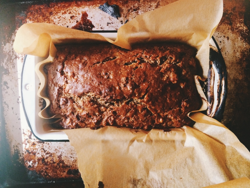 Banana Bread via Eat This Poem