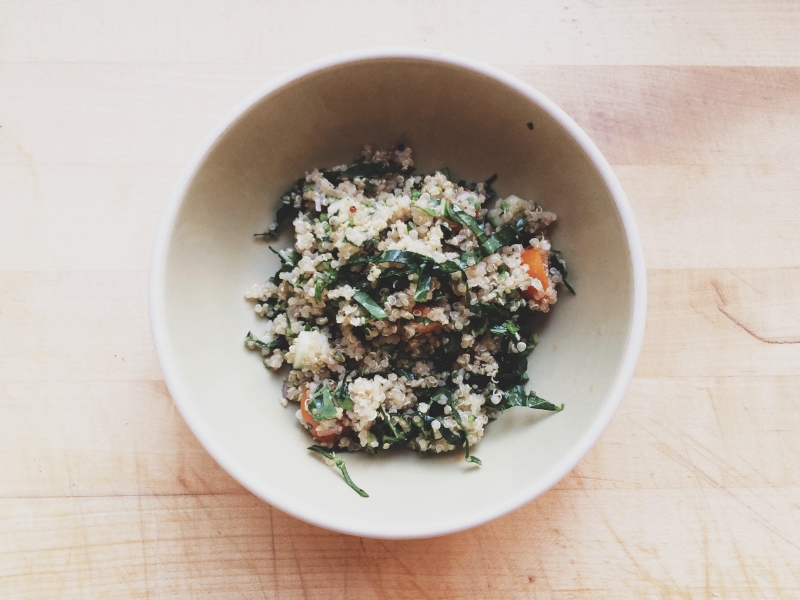 Moroccan Quinoa Salad | Eat This Poem