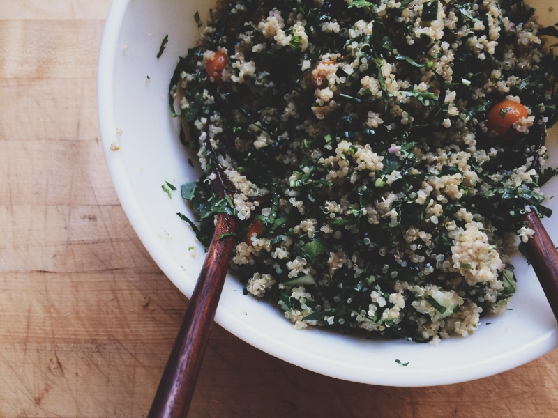 Moroccan Quinoa Salad   Eat This Poem