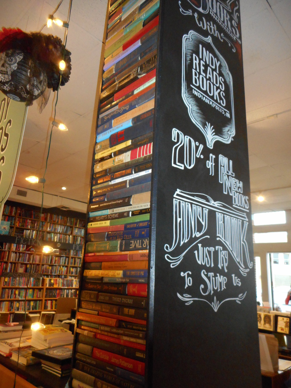 book pillar in Indy Reads Books.jpg