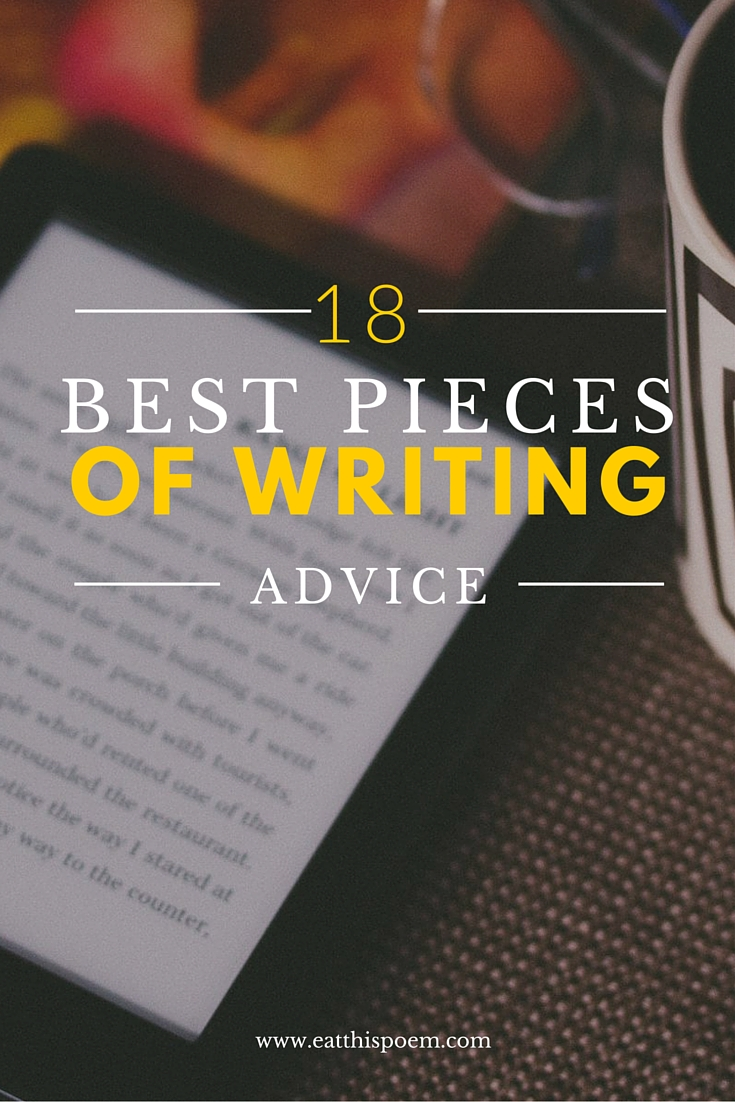 18 Best Pieces of Writing Advice