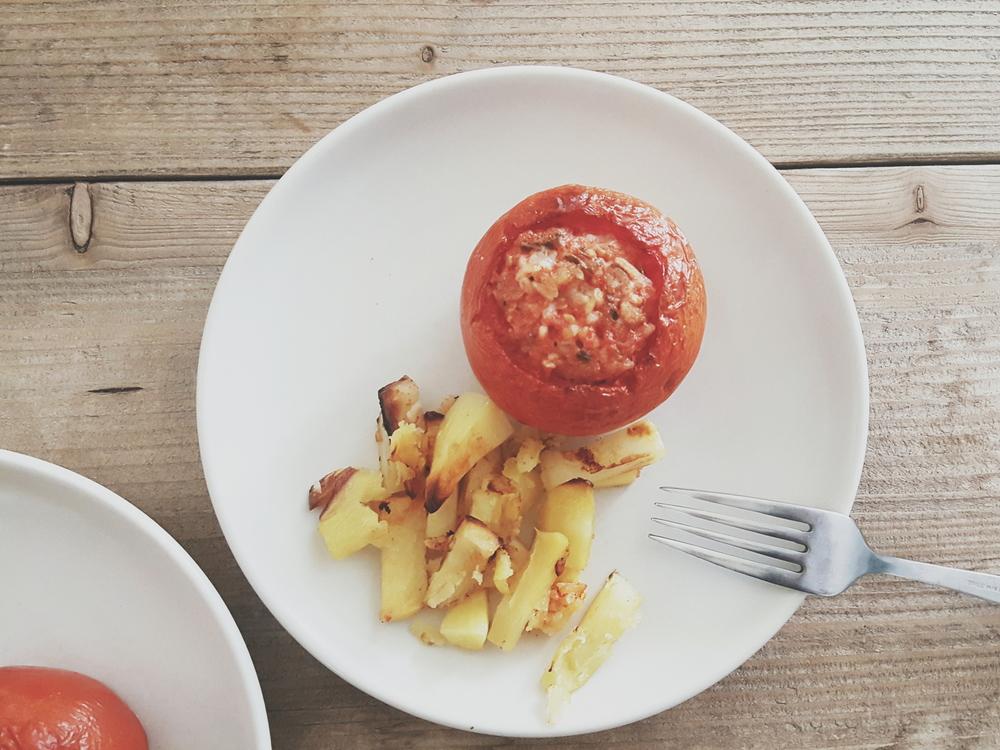 Italian Stuffed Tomatoes