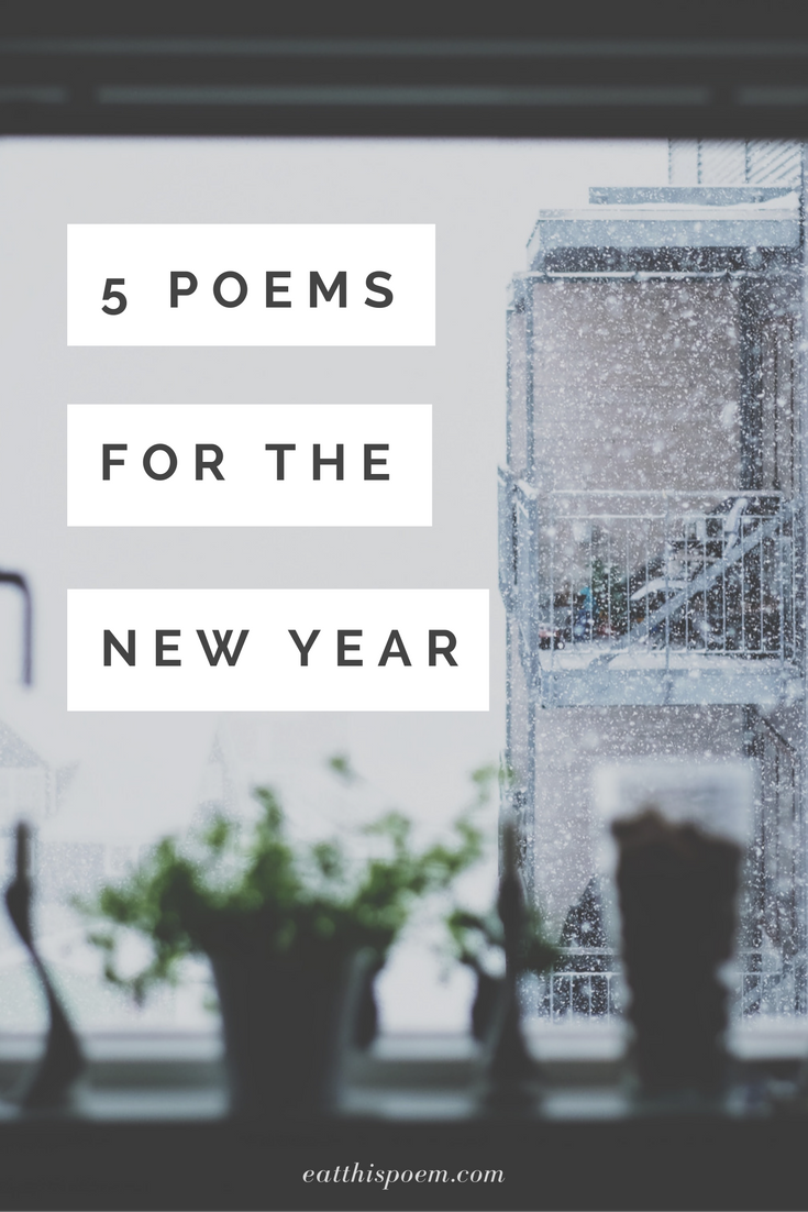 5 quiet, reflective poems to celebrate the new year #poetry #winterpoems #poem #eatthispoem
