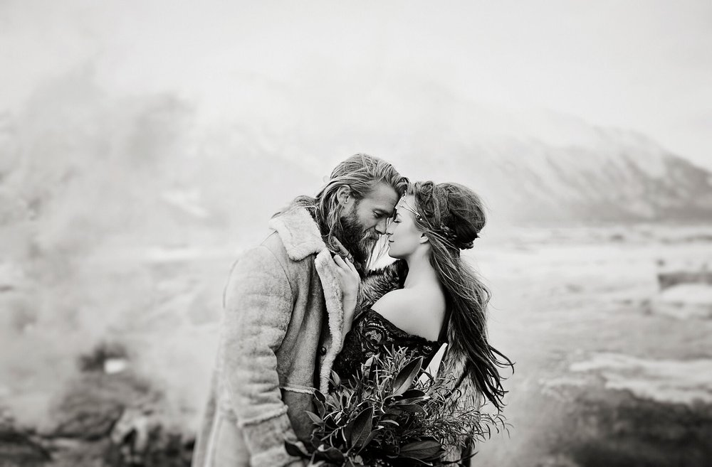 Surprise Alaska Winter Engagement