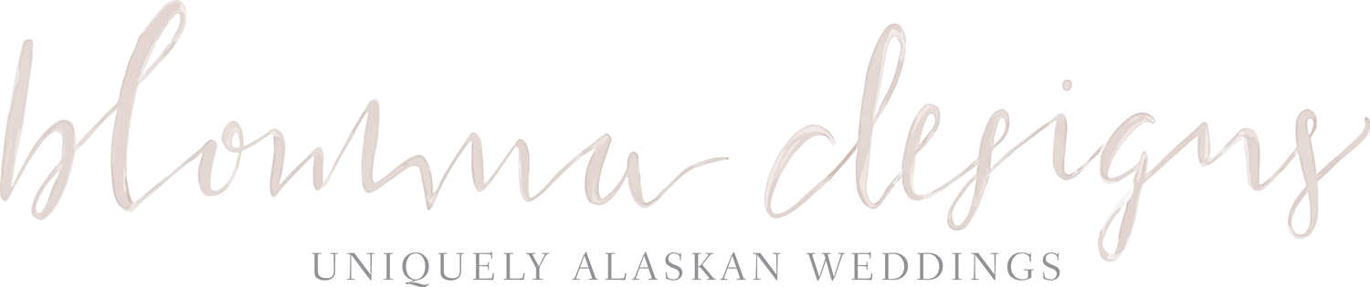 Blomma Designs I Uniquely Alaskan Wedding Design