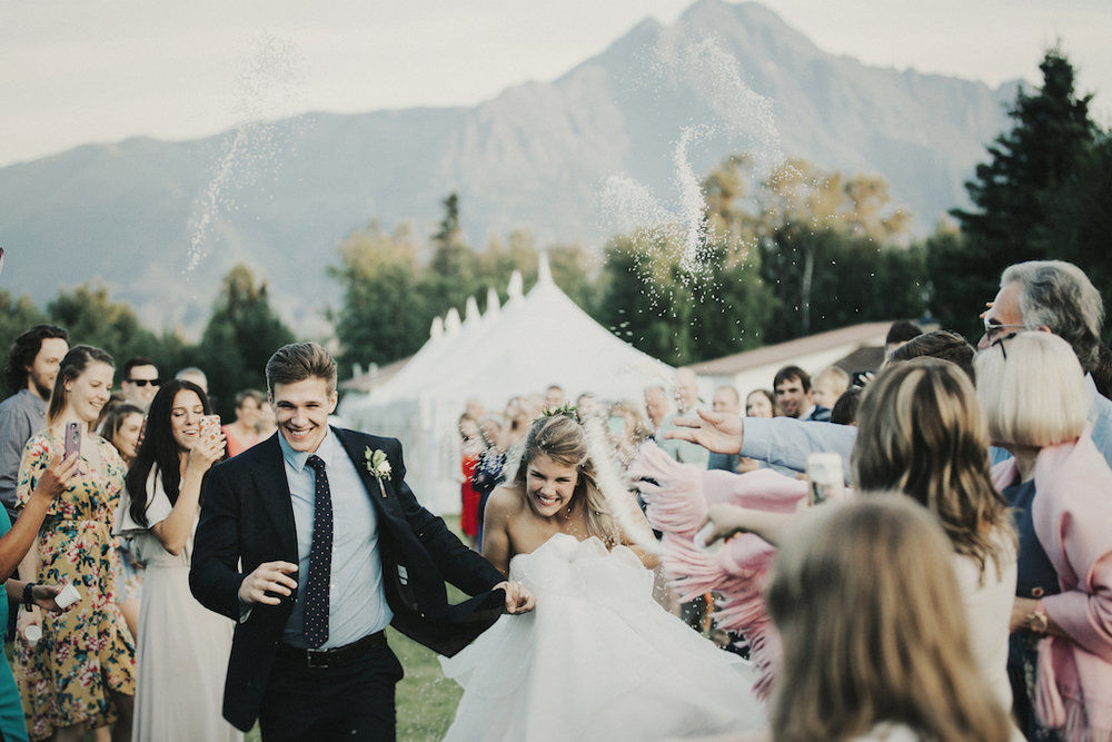 Elegant and Romantic Mountain Wedding in Alaska - Blomma Designs