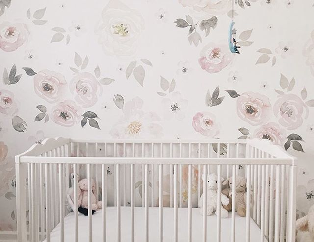 Talvi's nursery is up on the blog. We know a few of you out there wanted to see how we redecorated her room. It's my favorite room in our house and I hope you'll enjoy seeing how we turned a boring square box into the sweetest nursery for our littlest cherub. Link in bio!