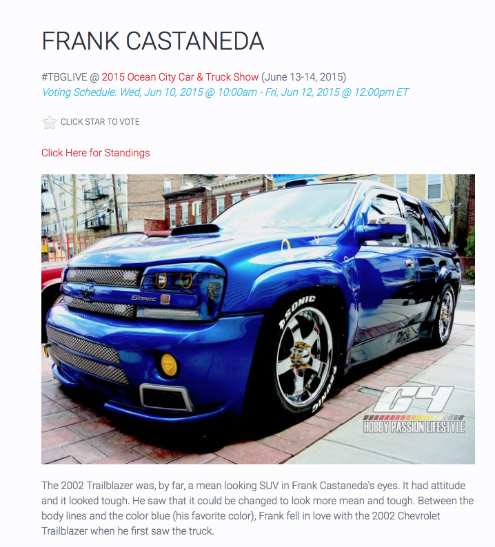 Profile for Frank on Tuner Battlegrounds