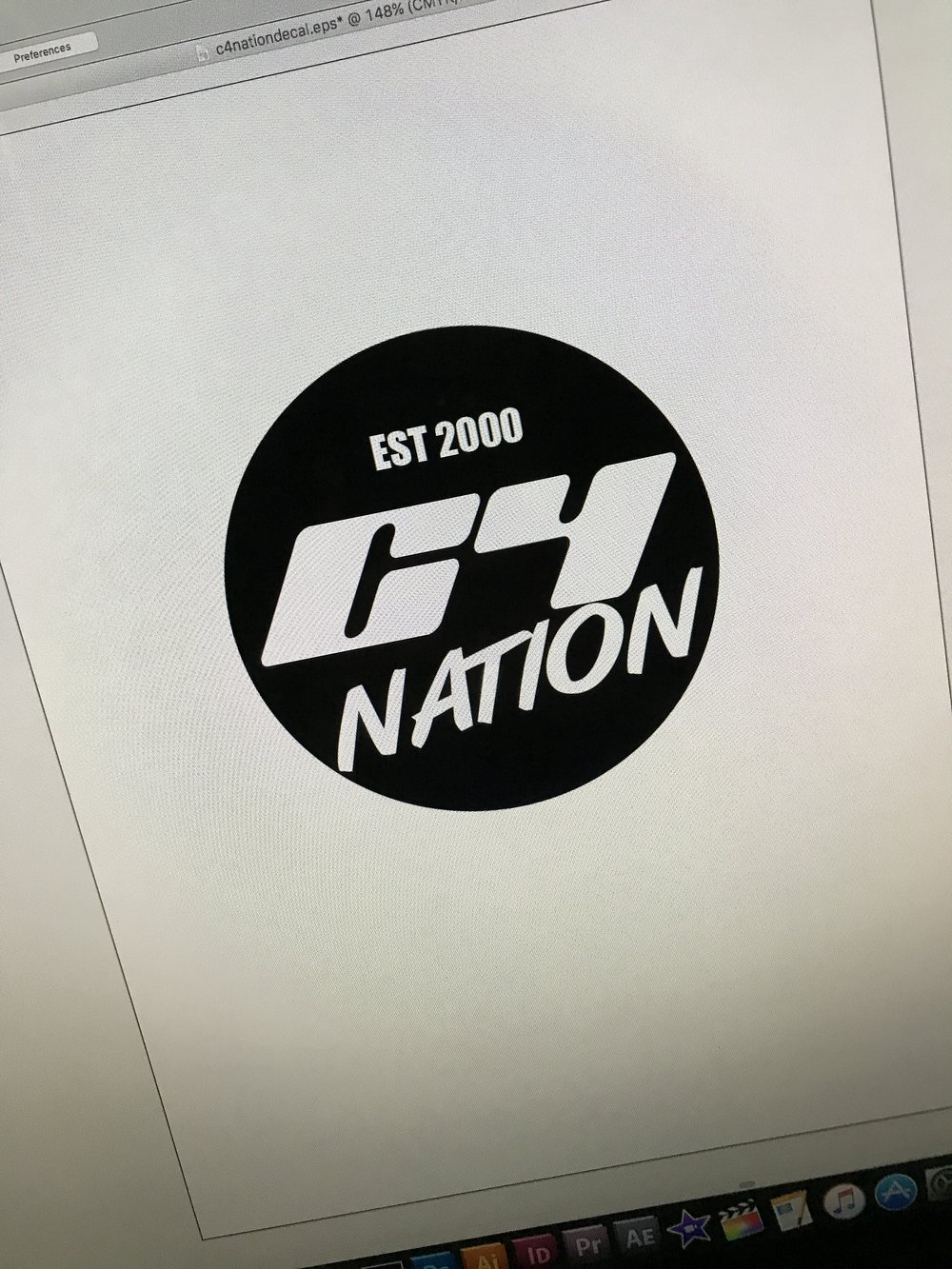 C4 NATION DECALS 2 PACK