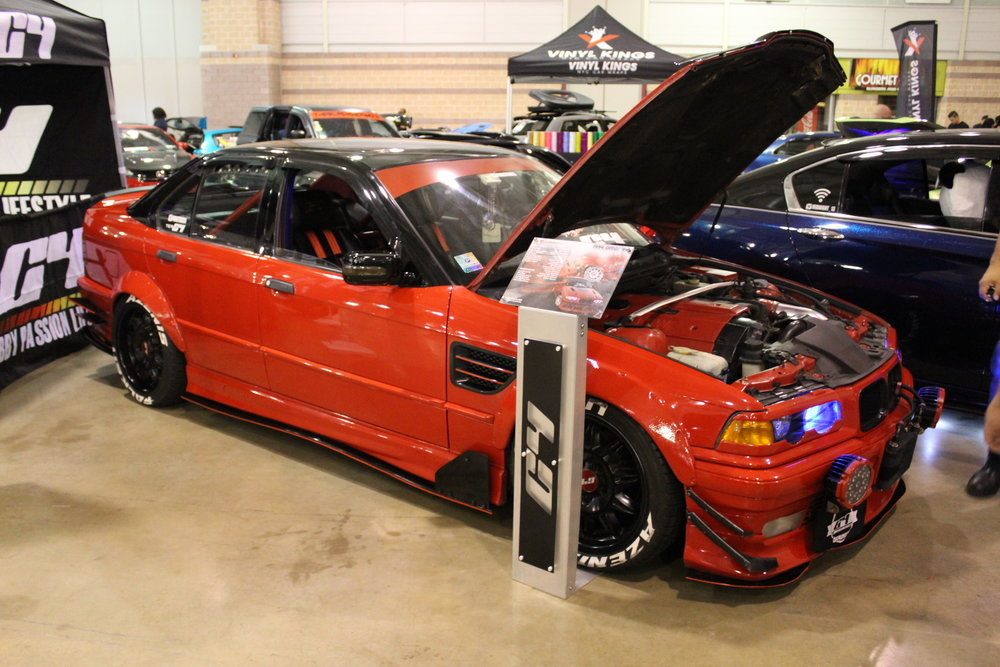 Red at Import Expo