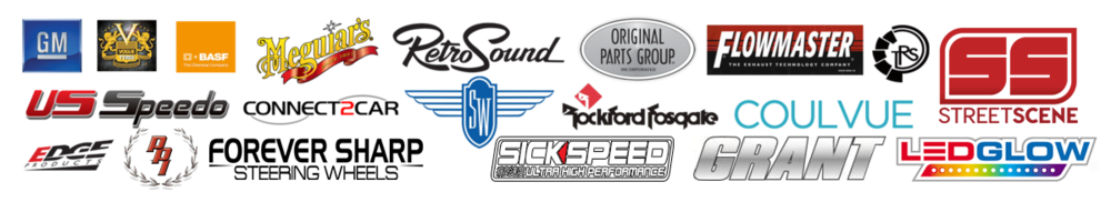 Sponsors for the Flagship rides