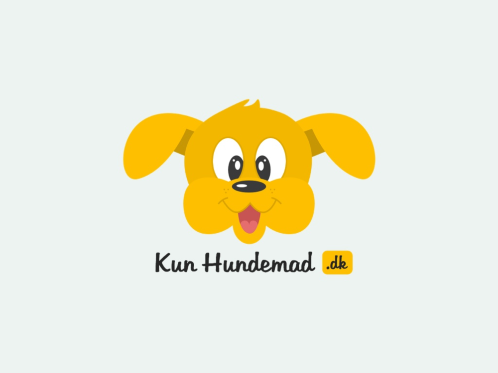 A danish dog food web-shop that I did a few years ago - wanted it to be more fun and cute then most of his competitors branded themself.