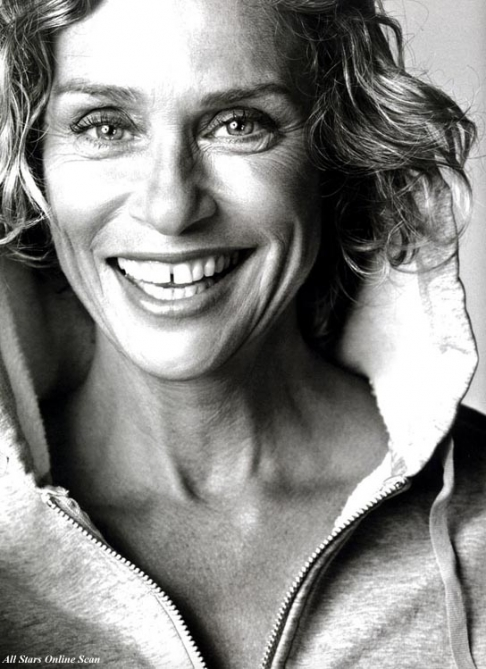 Lauren Hutton represents!