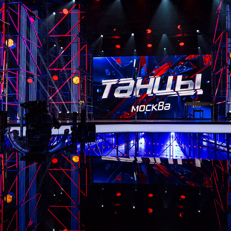 SET DESIGN - HIGH-END and FUTURISTIC SET DESIGN FOR THE FOURTH CONCERT DANCE on TNT CHANNEL IN RUSSIA