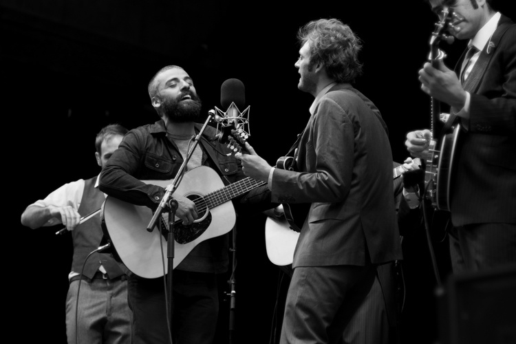 Oscar Isaac & Punch Brothers at the 40th Telluride Film Festival – Telluride, CO