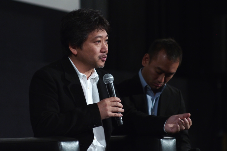 Hirokazu Koreeda at AFI Fest - Los Angeles, CA