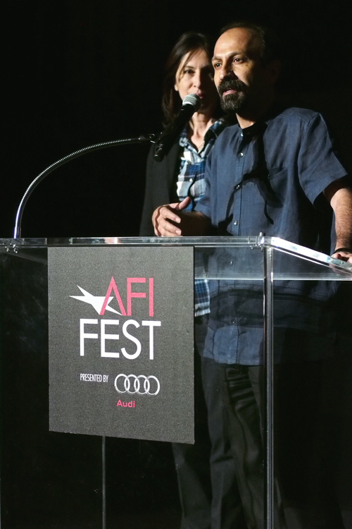 Asghar Farhadi at AFI Fest - Los Angeles, CA