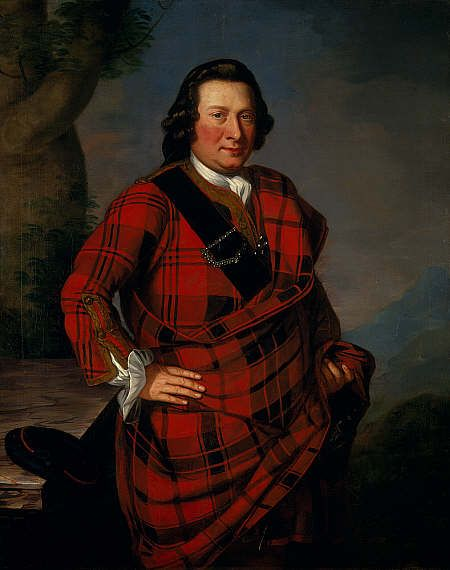 Unknown Charles Campbell of Lochlane, died 1751. Advocate National Gallery of Scotland