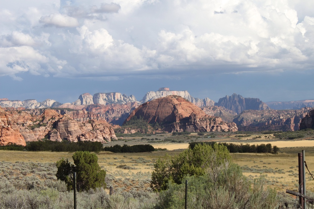 """The scenery from what I will now refer to as """"death drive 2014"""". Kolob Resevoir"""