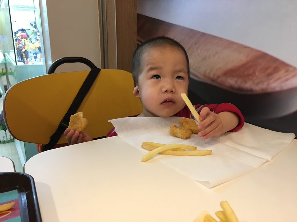 McDonald's Fries for the win...