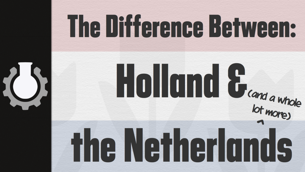 The Difference between Holland the Netherlands CGP Grey – Map of Germany and Holland Together