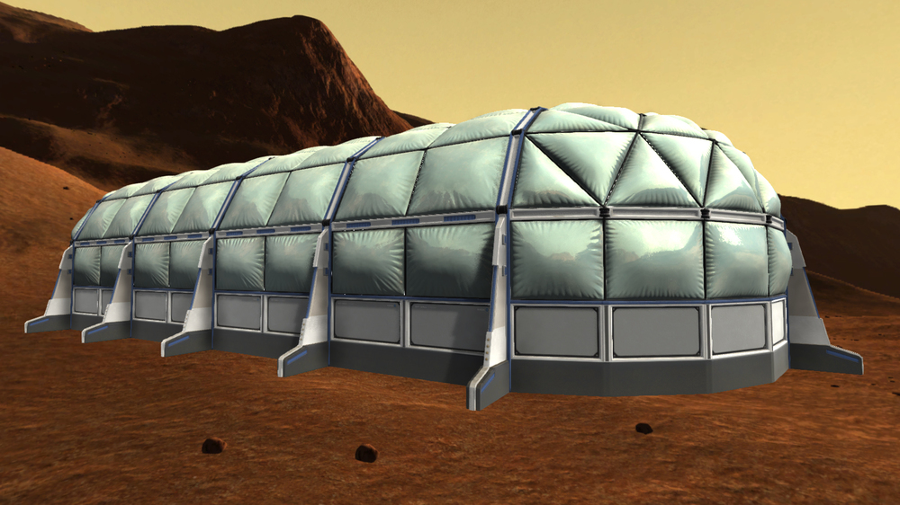 Work in progress for exterior modeling and texturing. Click to enlarge.