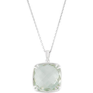 Green Quartz Necklace, style #68523 $249.00