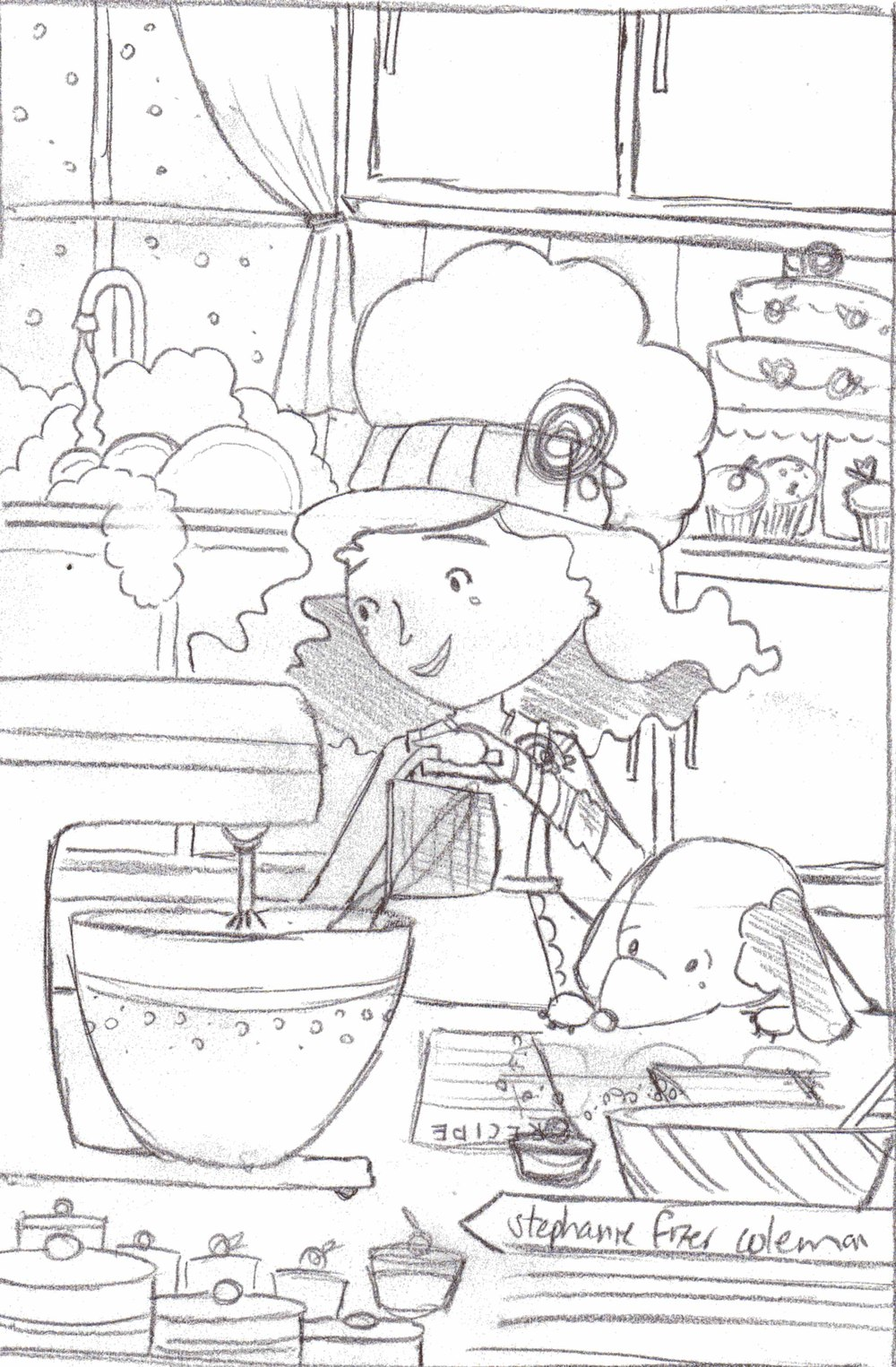 lily and lou valentine promo sketch.jpg