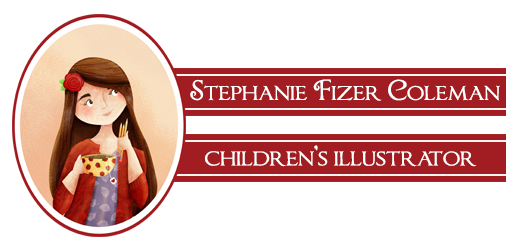 Stephanie Fizer Coleman - children's illustrator & licensed artist