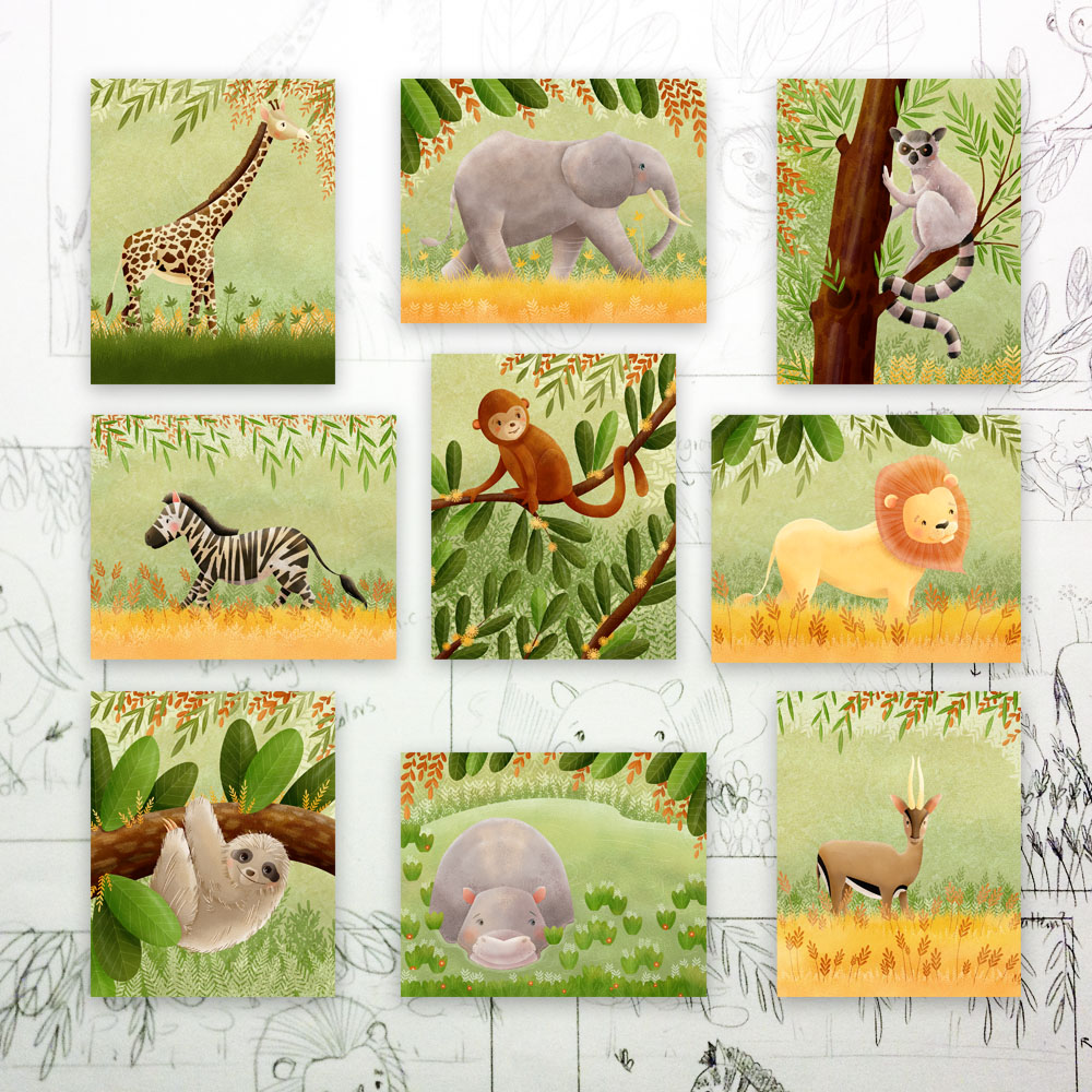 jungle animals print set.jpg