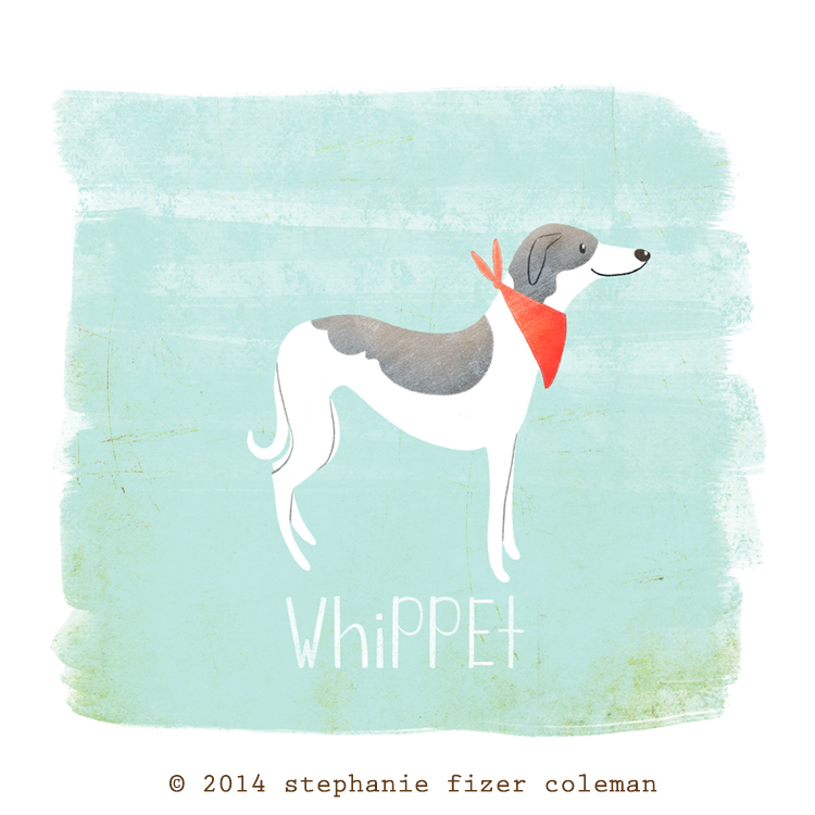 Checkout 52 Dogs, an illustration project I embarked on in 2014 .