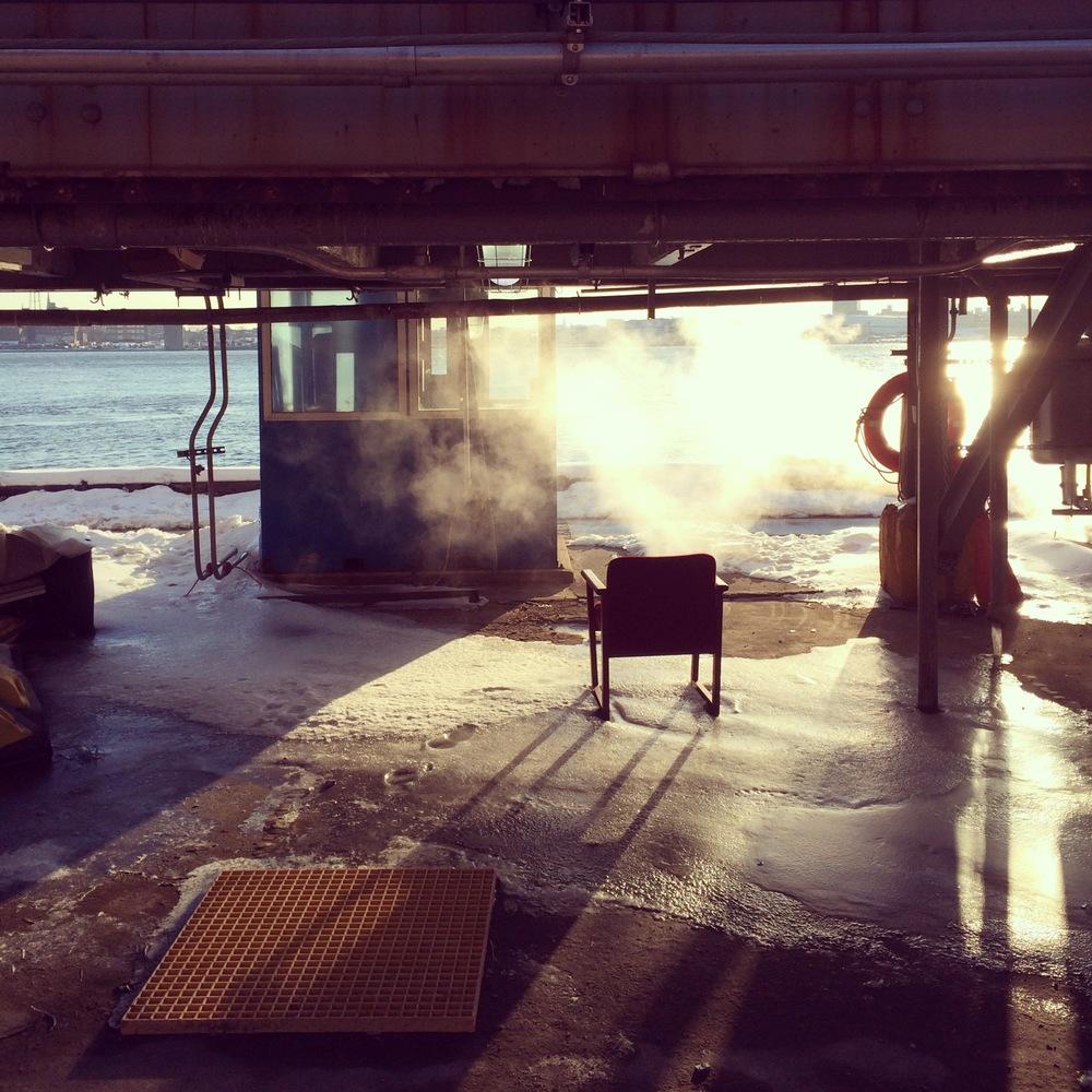 Kate Wichlinski East River Morning