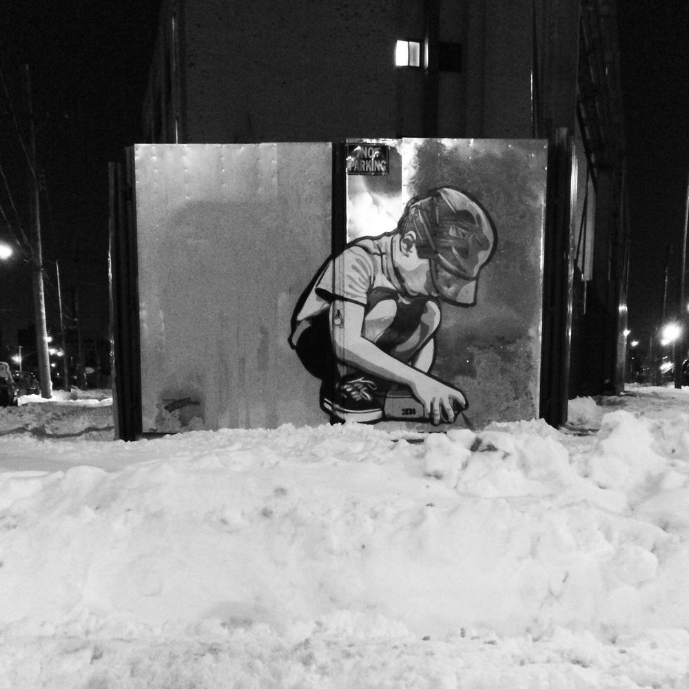 Kate Wichlinski Snowpaint