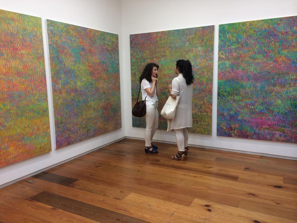 Zurcher Gallery; white on not-white