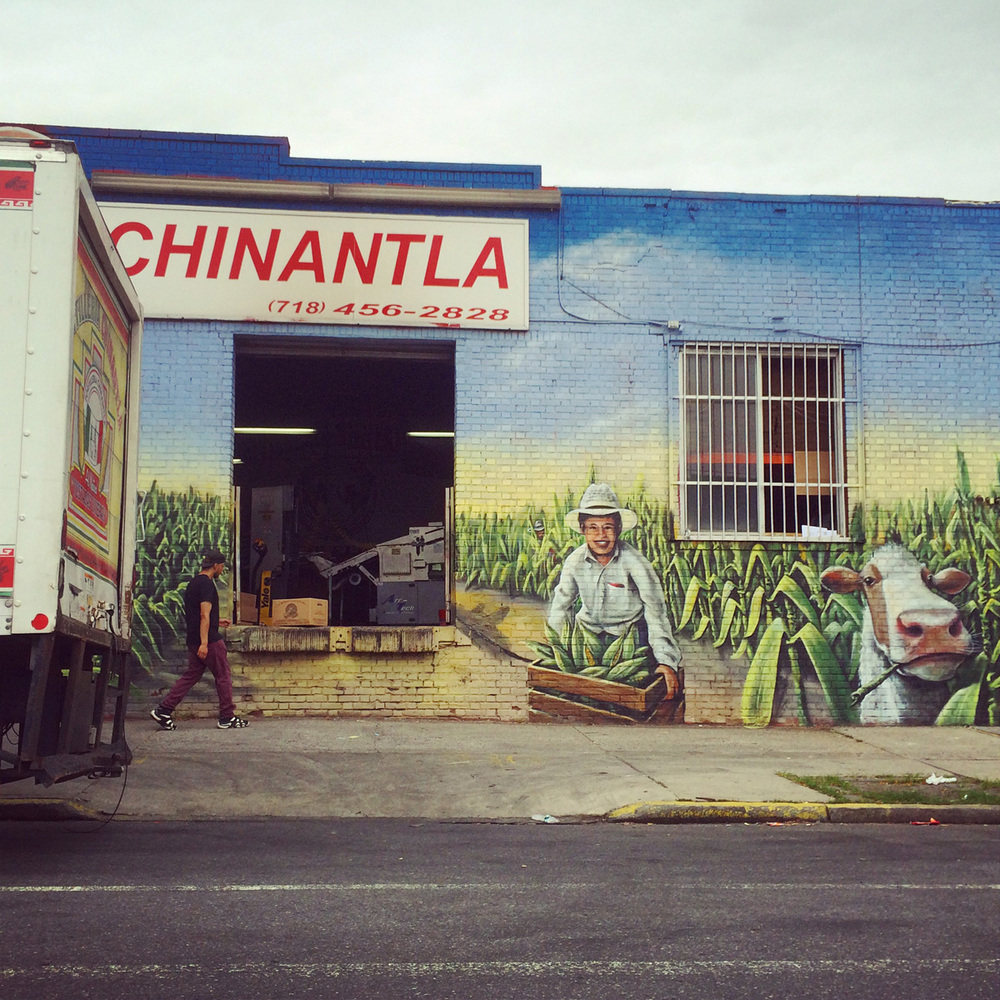 Bushwick is chock full of tortilla factories. This one is the best dressed.