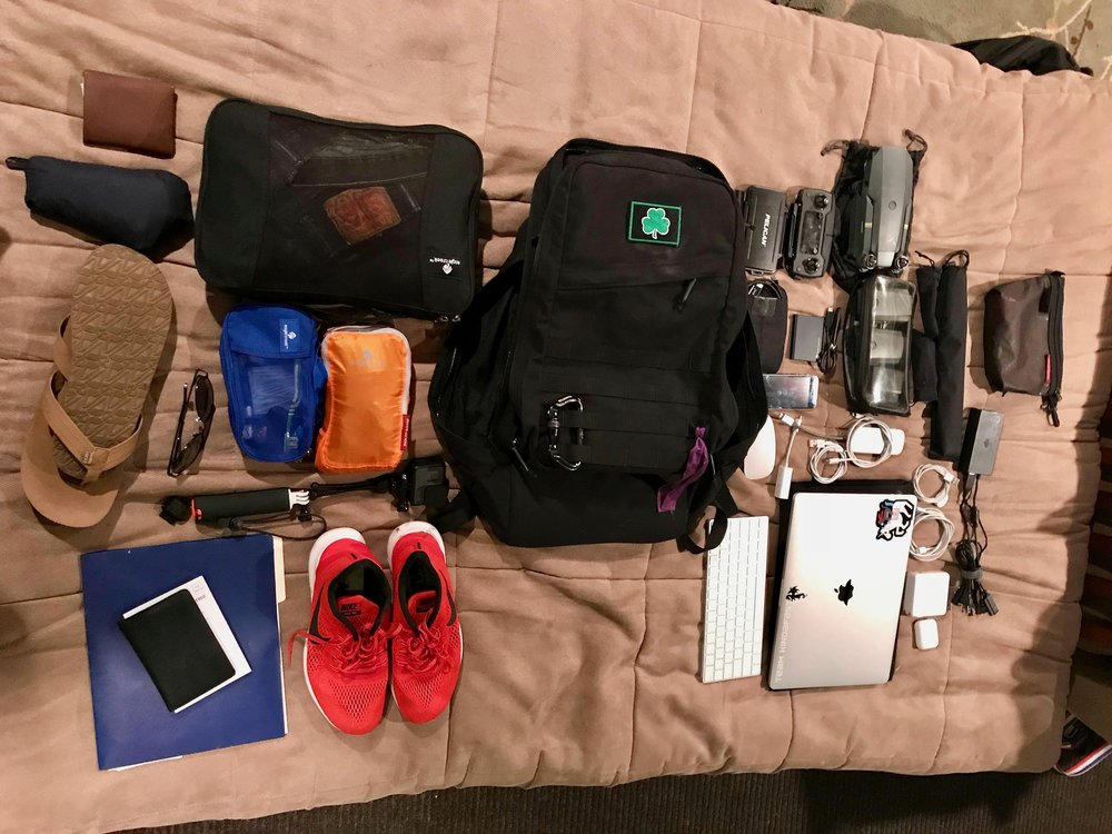 My Bag - Currently traveling the world with this stuff :)Full Packlist Here - https://goo.gl/o62Q63