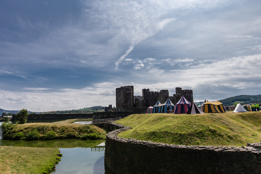 ©Jennifer Bailey 2013 Caerphilly Castle, Wales