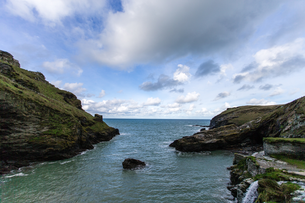 ©Jennifer Bailey 2013 Tintagel Castle, Cornwall, England