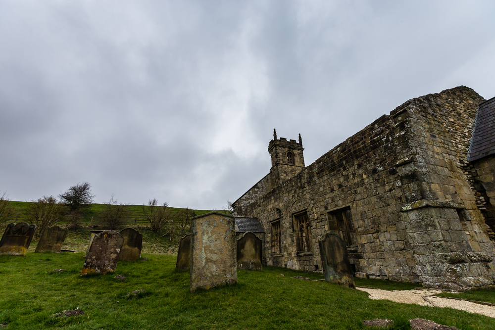 ©Jennifer Bailey 2014 Wharram Percy, deserted medieval village