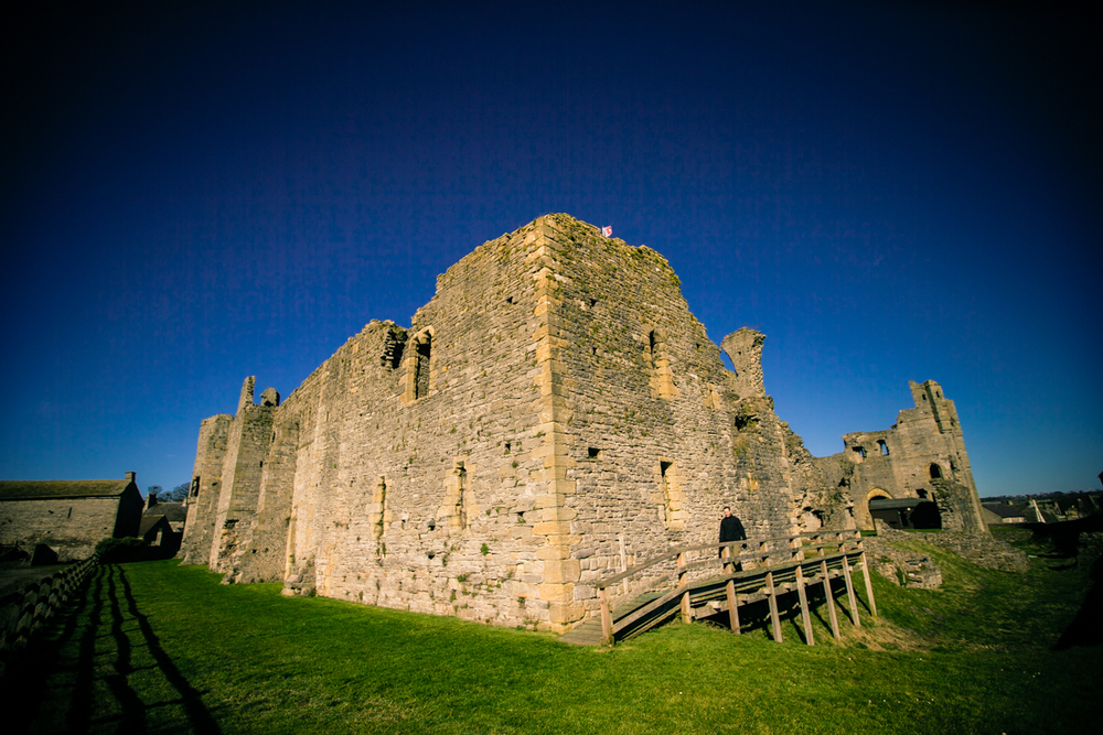 ©Jennifer Bailey 2014 Middleham Castle, England