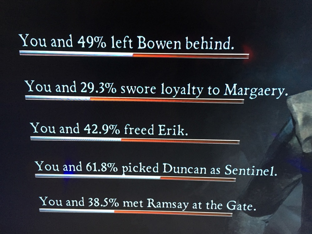 Jennifer's gameplay screencap - Tell Tale Games; Game of Thrones