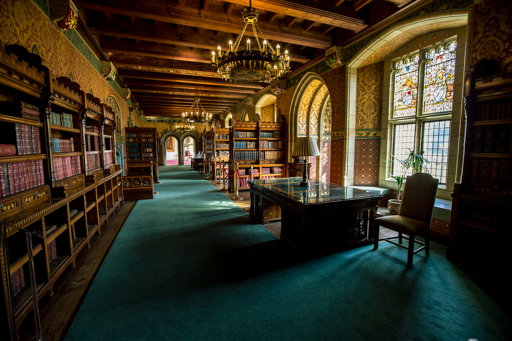 cardiff castle library